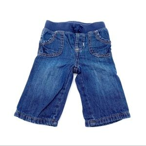 4/$25 Old Navy 100% Cotton Jeans Size 3-6 Months